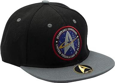 ABYstyle - STAR TREK - Gorra Starfleet Command - Negro y Gris