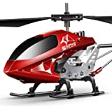 Remote Control Helicopter, S107H-E Aircraft with Altitude Hold, One Key take Off/Landing, 3.5 Channel, Gyro Stabilizer…