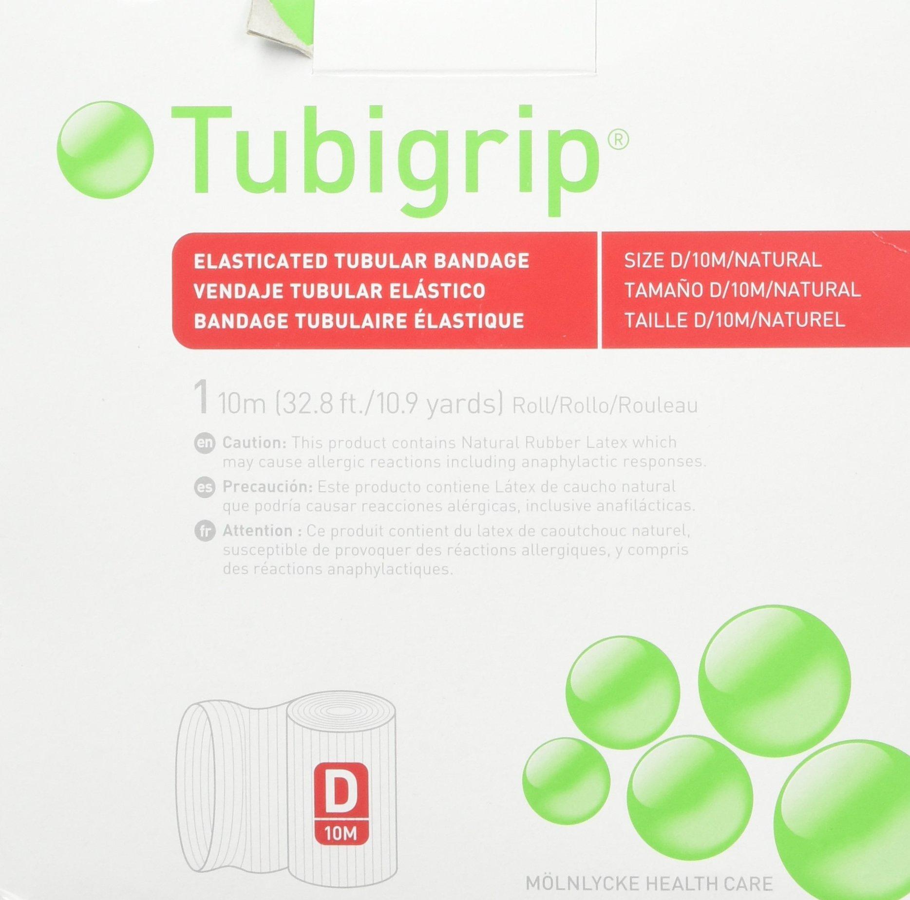 Tubigrip Tubular Bandage Size D, 10M Box (2 Pack) by Tubigrip