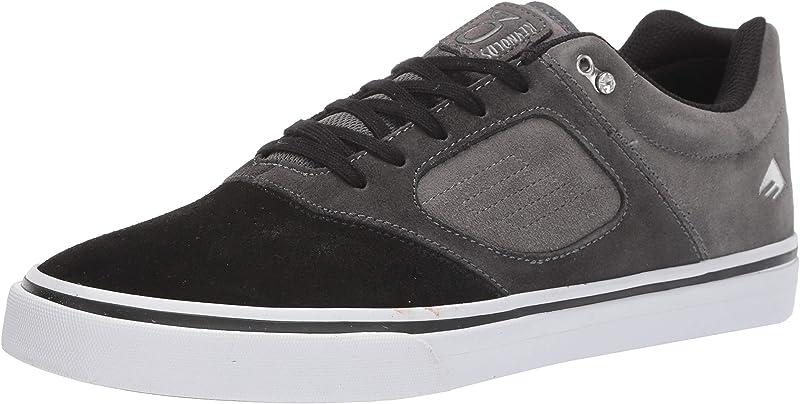 Emerica Reynolds 3 G6 Vulc Sneakers Herren Schwarz/Dunkelgrau/Grau Größe 36 1/2 – 48