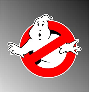 4 ghostbusters ghost buster decal bumper sticker 4