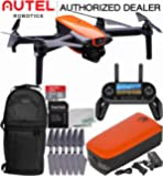 Autel Robotics EVO Foldable Quadcopter with 3-Axis Gimbal Starters Backpack Bundle