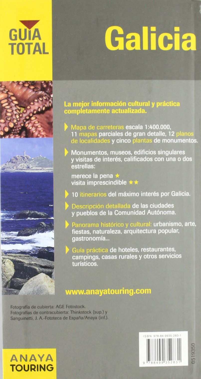 Galicia (Guía Total - España): Amazon.es: Pombo Rodríguez, Antón: Libros