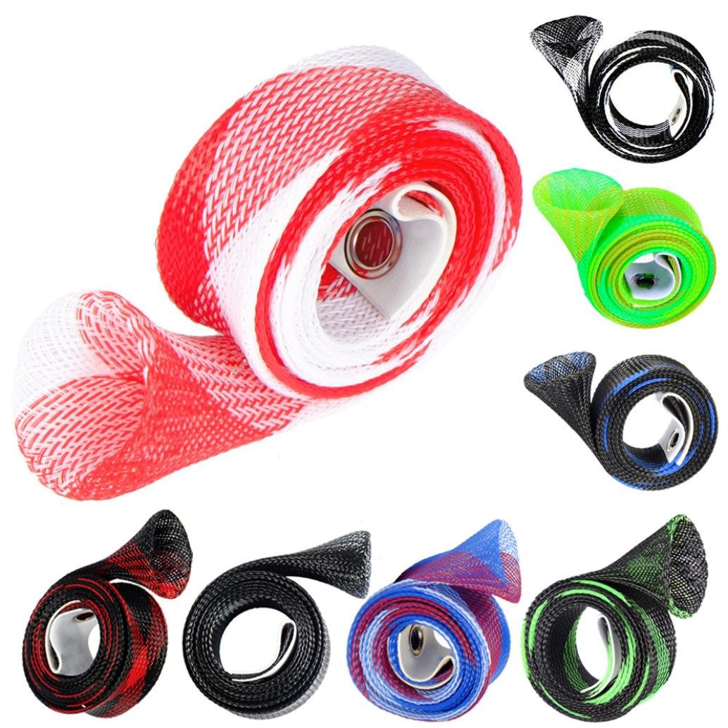 LYFZ 8 Pack Fishing Rod Cover,Spinning Rod Sleeve Pole Glove Protector Cover for Fly,Spinning,Casting,Sea Fishing Rod