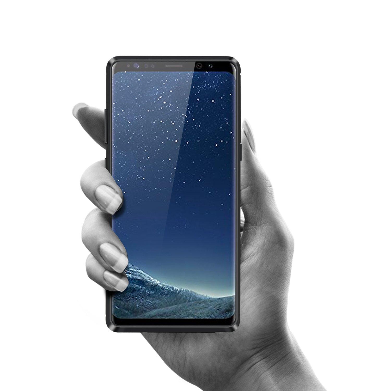 Funda Samsung Galaxy Note 8 Carcasas Gel TPU Silicona Flexible Fibra De Carbono Ultra Delgado Ligero Goma Case Cover Caja Suave Gel Shock Absorci/ón Anti Rasgu/ños Anti Choque Bumper Protectora Funda