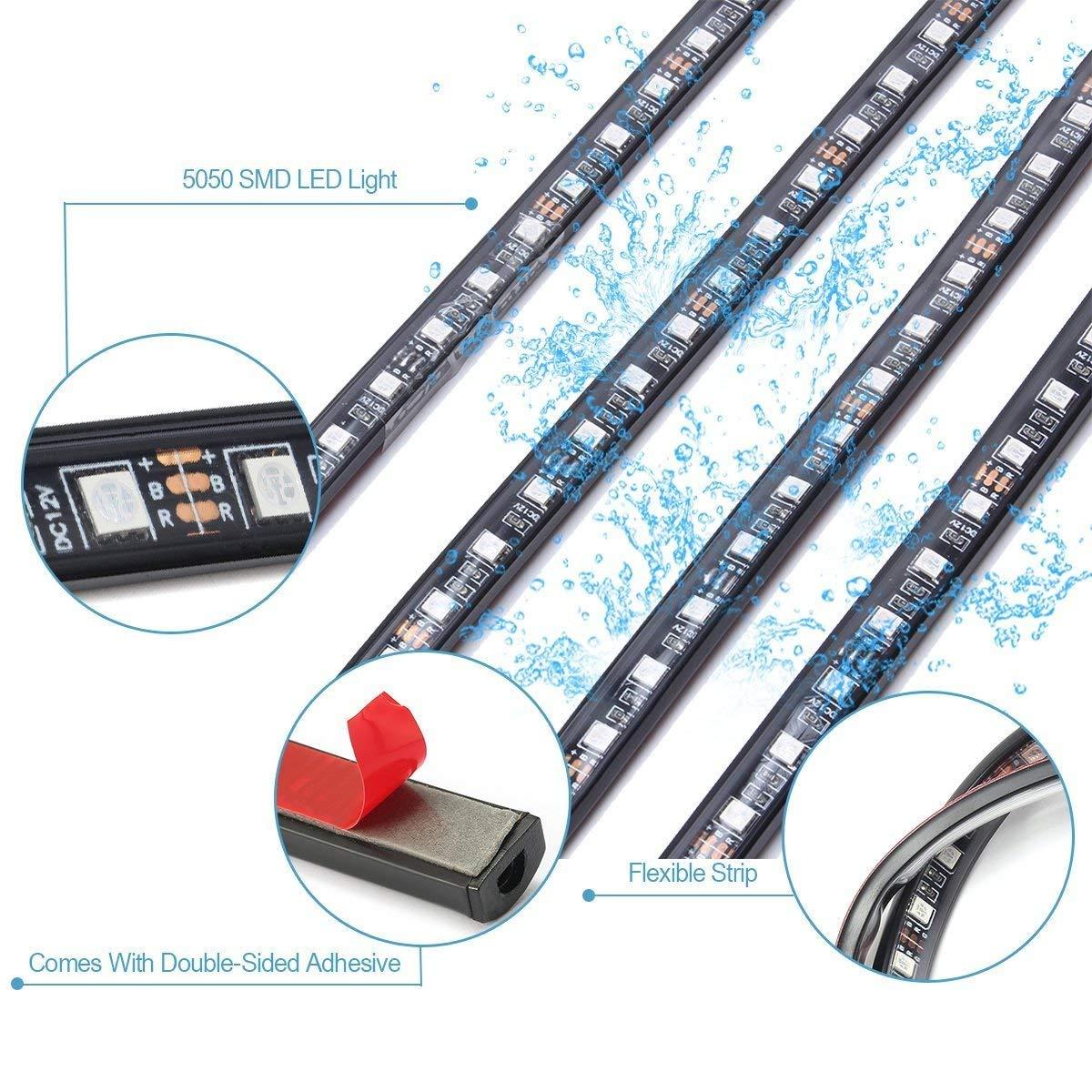 LED luces de coche teclas Kit, Auto partes Club 4 pcs 252LEDs ...