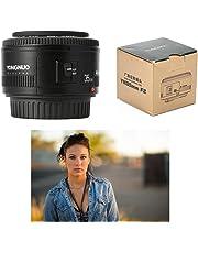 Yongnuo EF 35mm F/2 Lente Gran Ángulo con Auto Foco para Cámara Canon EOS LF710
