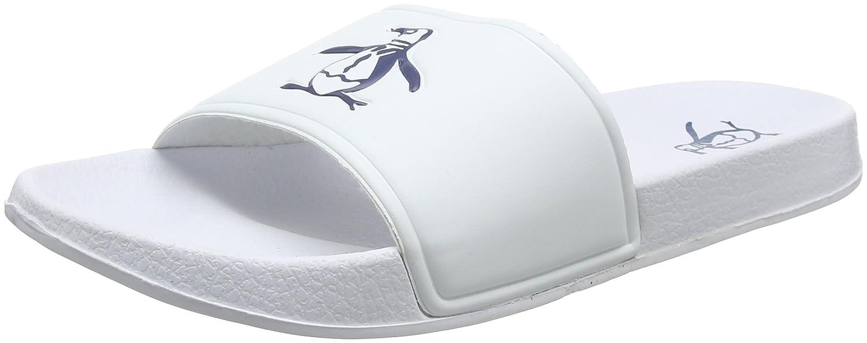 Penguin Pier Mens Sandals White