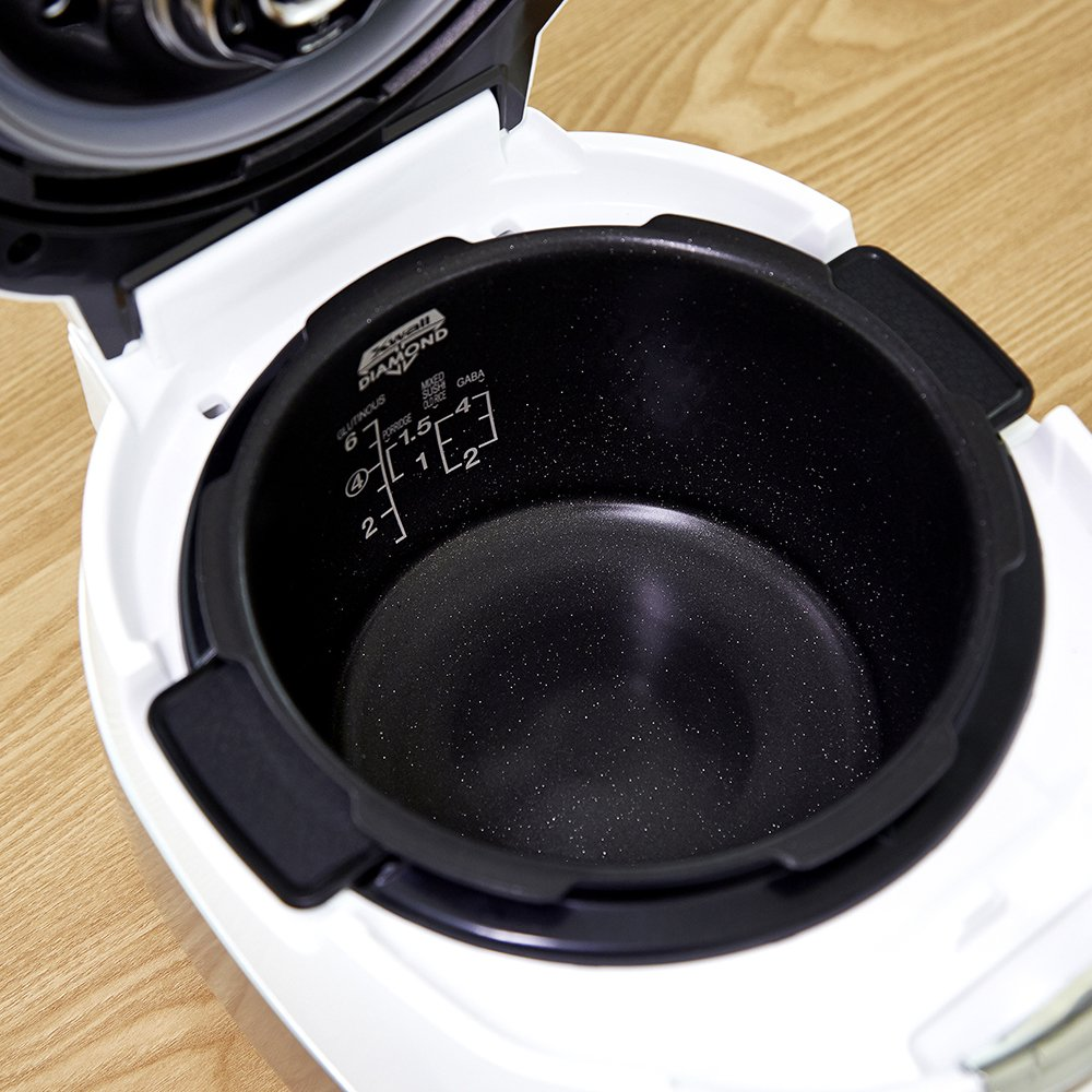 Cuckoo Electric Induction Heating Pressure Rice Cooker CRP-HS0657F (White) by Cuckoo (Image #6)