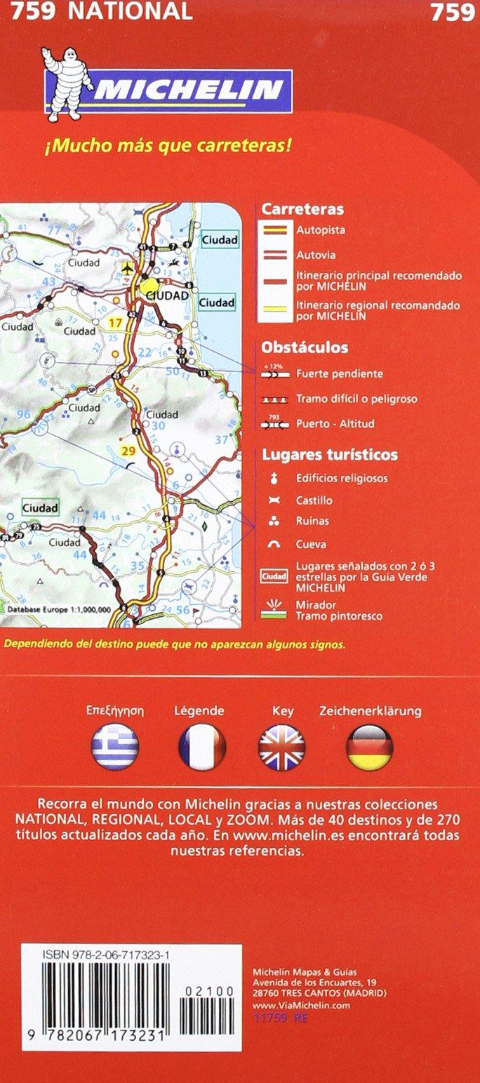 Mapa National Creta (Mapas National Michelin): Amazon.es: Vv.Aa ...