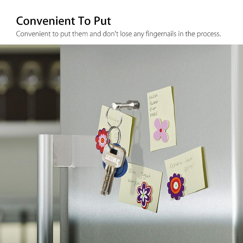 Keychain Strong Metal Neodymium Magnet Split Ring Pocket Keyring Holder Keychain Magnets RE 2 Pack