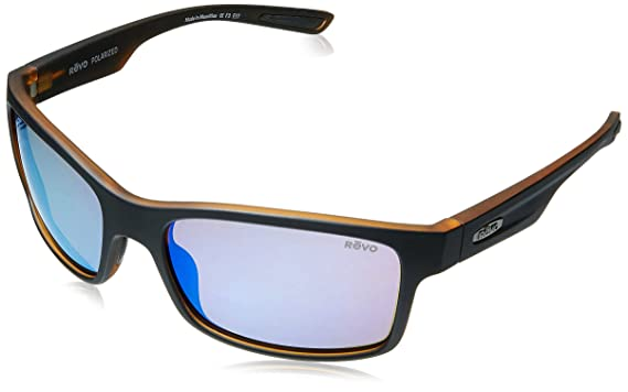 3597a6cea9 Amazon.com  Revo Unisex RE 1027 Crawler Rectangular Polarized UV ...