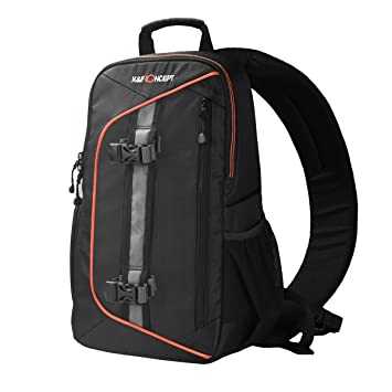 Amazon.com : K&F Concept Sling Camera Backpack for Canon Nikon ...