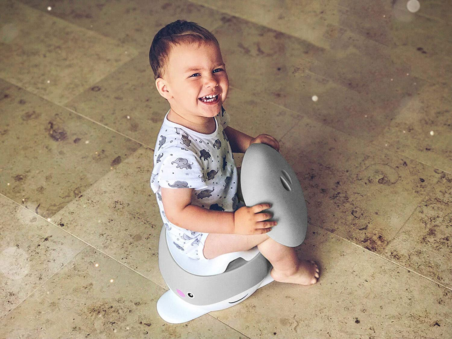 1-5 Years Old Nordhain Whale Potty Mint with Friendly Design Non-Slip Childrens Toilet High Quality Toilet Trainer