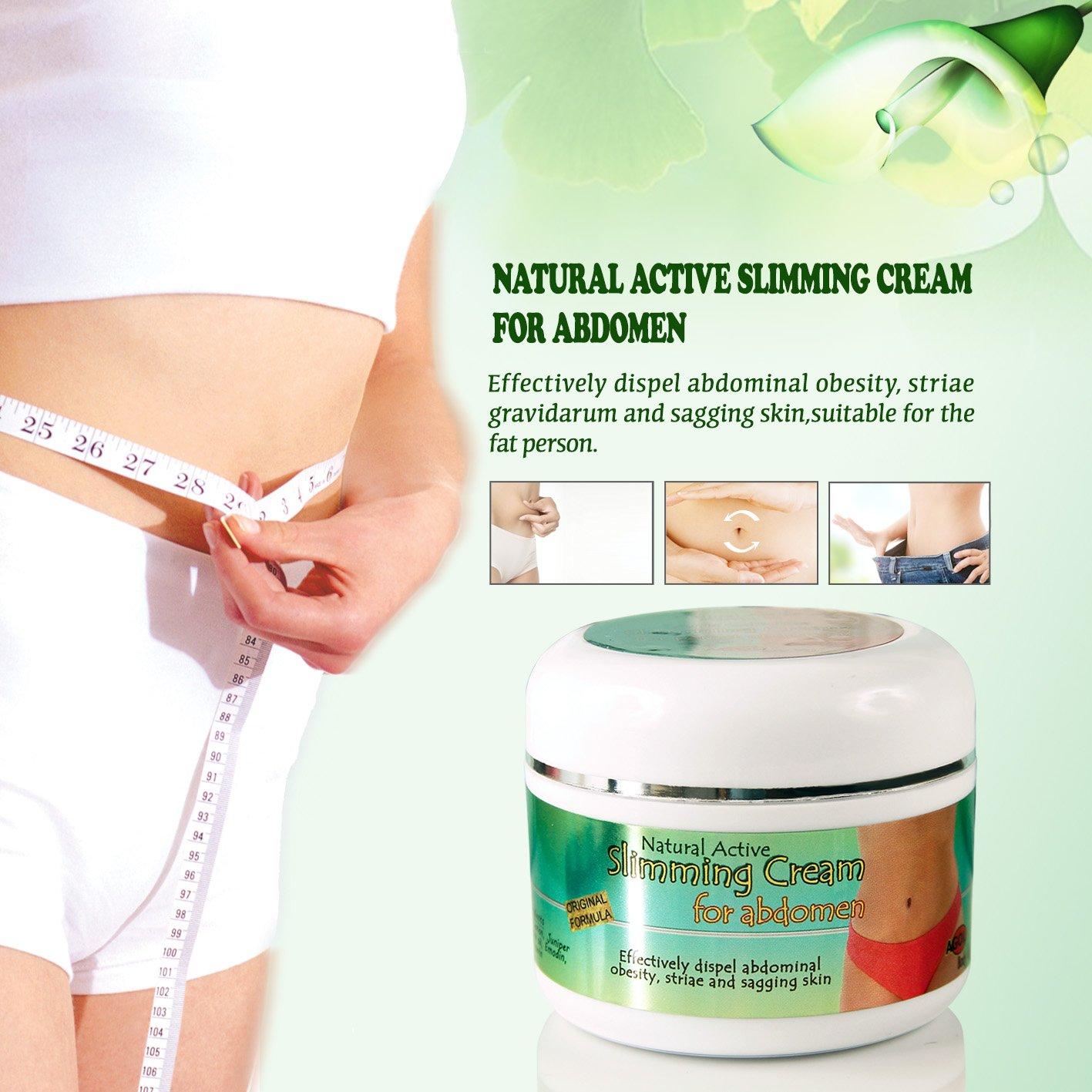 Slimming Cream Anti Cellulite Abdomen Organic Natural Body Slimming Treatment, Skin Tightening Improves Sagging Skin - Slimmer Healthier Lifestyle Treatment, 7 Oz from Agol BodyLab