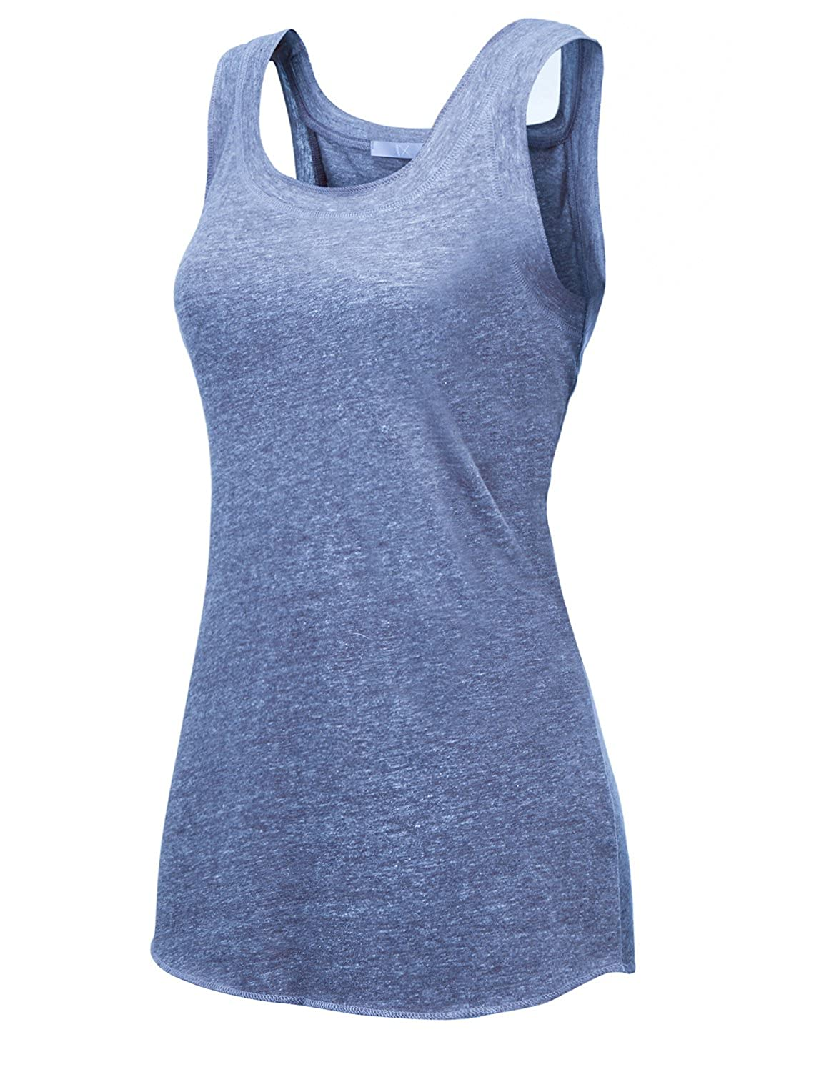 18504_bluee Regna X [RESTOCK Activewear Running Workouts Clothes Yoga Racerback Tank Tops for Women