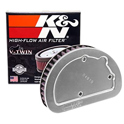 K&N Engine Air Filter: High Performance, Premium, Powersport Air Filter: 2014-2020 HARLEY DAVIDSON (Softail Slim, Heritage, Softail Classic, Fat Boy, Deluxe, Breakout, and other select models) HD-1614: Automotive