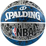 スポルディング(スポルディング) NBA グラフィティ バスケットボール 7号球 ブルー 83-176Z