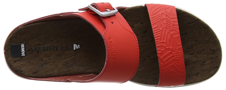 6830ff1703798 Merrell Women s Around Town Buckle Slide Print Heels Sandals  Amazon.co.uk   Shoes   Bags