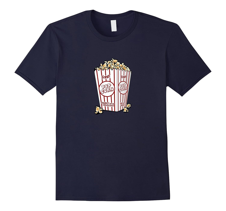 Yummy Popcorn Movie Treat T-shirt-mt