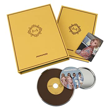 87c84ab9e53499 MAMAMOO 6th Mini Album - [ YELLOW FLOWER ] CD + Photobook + Photocard + FREE  GIFT / K-POP Sealed by MAMAMOO: Amazon.co.uk: Music