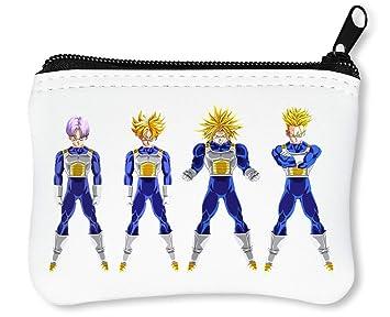 DBZ Character Goku Billetera con Cremallera Monedero Caratera: Amazon.es: Equipaje