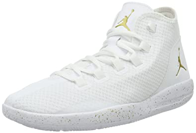 newest bef9c c683b Nike Jordan Reveal, Baskets Basses Homme, Blanc MTLC Gold  Coin-White-Infrared