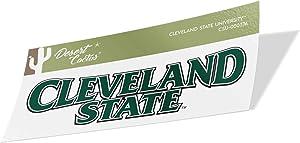 Cleveland State University CSU Vikings NCAA Vinyl Decal Laptop Water Bottle Car Scrapbook (Sticker - 00037A)