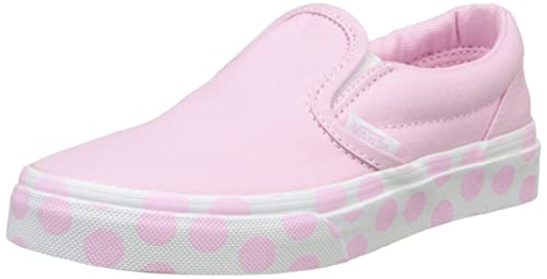 d73e3dff23 Vans Classic Slip-On (Polka Dot) Sneakers Pink Lady/True White Size ...