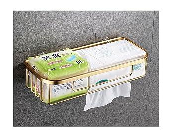 Toilettenpapier Boxe Halter Badezimmer Wand Montiert Praktisch Ohne