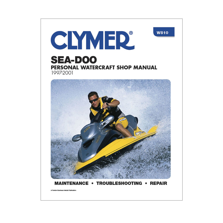 Amazon.com: Clymer Sea-Doo Personal Watercraft Shop Manual 1997-2001:  Automotive