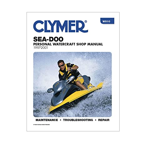 amazon com clymer sea doo personal watercraft shop manual 1997 2001 rh amazon com