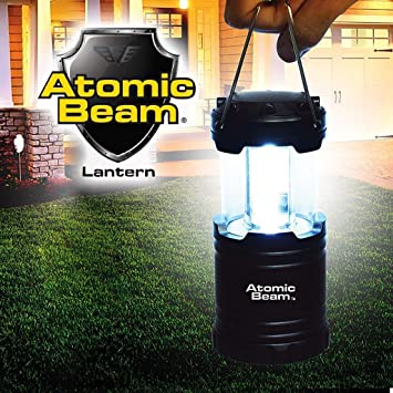 Atomic Beam Lantern Original by Bulbhead, Bright 360-Degree, Collapsible  LED Lantern for Emergencies & Camping
