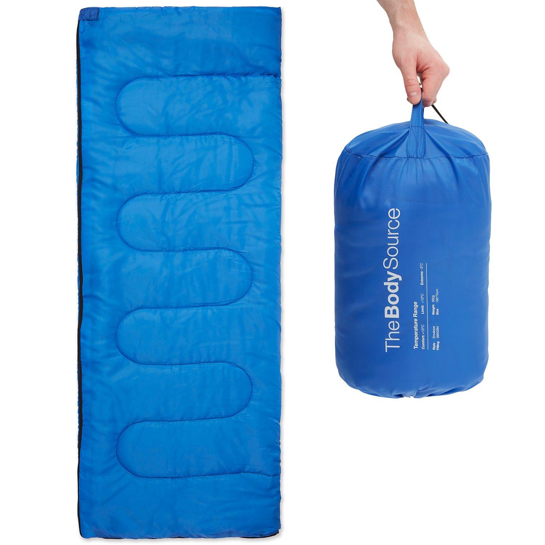 The Body Source Lightweight Envelope Sleeping Bag