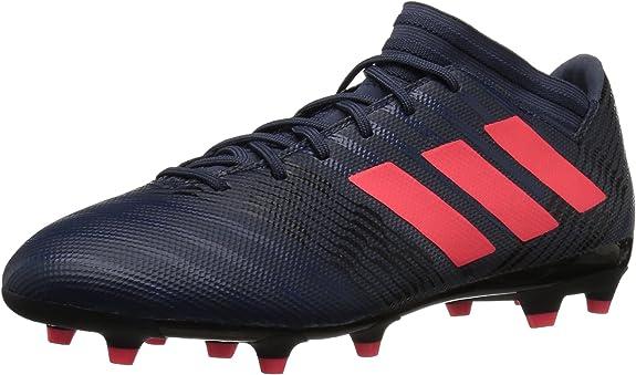 adidas Womens Nemeziz 17.3 FG W Soccer Shoe, Trace Blue/Red Zest/Core Black, 10 M US