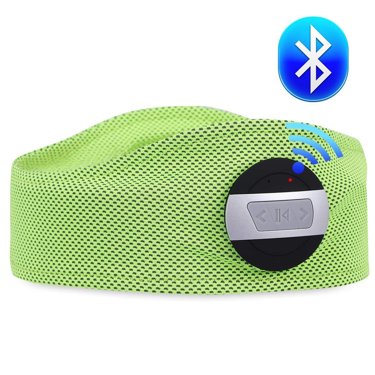 PinPle スポーツヘッドフォン ワイヤレス ステレオ Bluetooth ヘッドセット ハンズフリー ヘッドフォン ヘッドセット ジム フィットネス エクササイズ アウトドア スポーツ グリーン PinPle  グリーン B07PHFHGMM