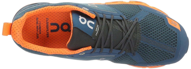 On Running Men's Cloudflyer Sneaker Iron/Sky B01HDA4118 10 D(M) US - Men's Storm/Flash