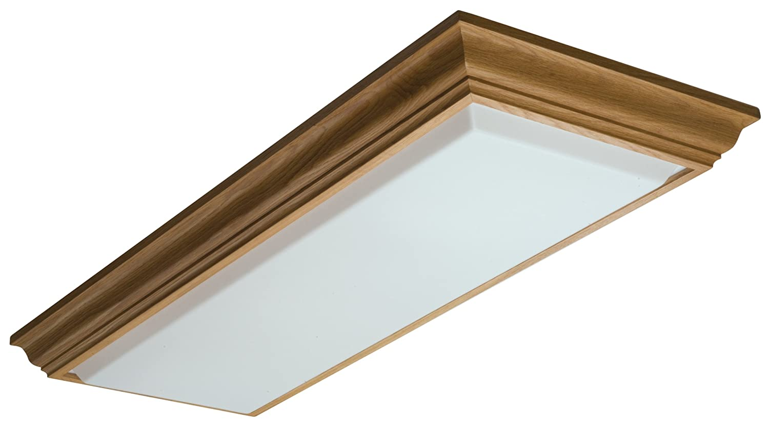 Kitchen Flush Mount Ceiling Lights Amazon lithonia lighting 11432re oa cambridge linear t8 flush amazon lithonia lighting 11432re oa cambridge linear t8 flush mount ceiling light oak home improvement workwithnaturefo