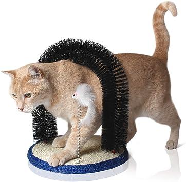 Bella & Balu Arco de masaje para gato. Con juguete para gatos y ...
