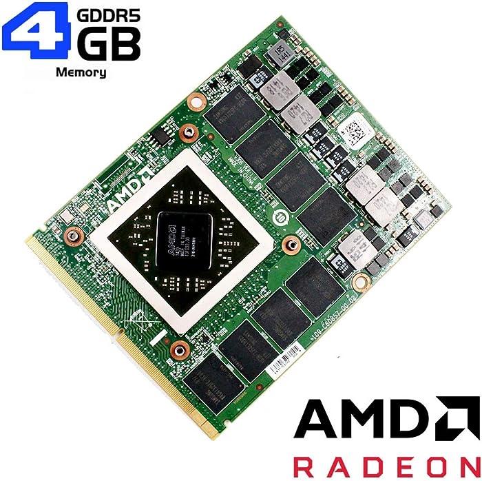 Genuine New 4GB GDDR5 Graphics Video Card GPU Replacement for Alienware 18 17 R1 R2 R3 M17X R2 R4 R5 R6 M18X R2 R3 Gaming Laptop, AMD Radeon R9 M290X HD8970M HD 8970M, MXM VGA Board Upgrade