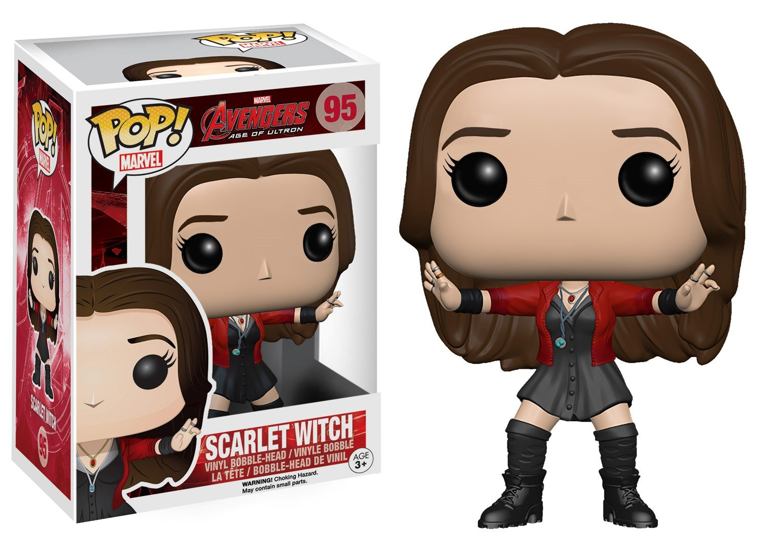 515788870a5 Amazon.com  Funko POP Marvel  Avengers 2 - Scarlet Witch Vinyl Figure  Funko  Pop! Marvel   Toys   Games