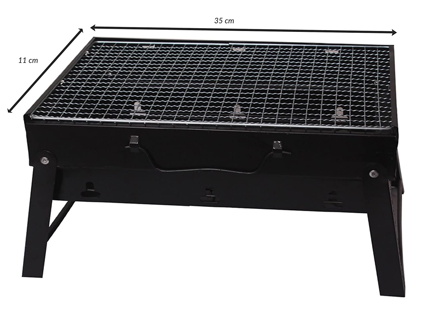 Alfa Mart Bbq Portable U0026 Foldable Charcoal Barbecue Grill   Both For  Outdoor U0026 Indoor: Amazon.in: Garden U0026 Outdoors
