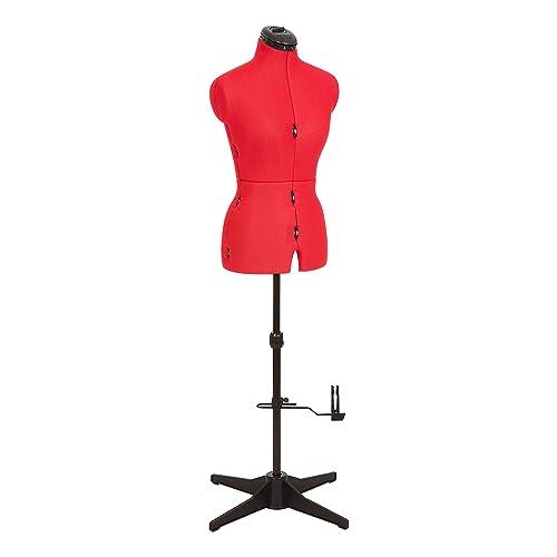 Adjustoform 023816/Red Sew Simple 8-Part Adjustable Dressmaker's Dummy UK10-16