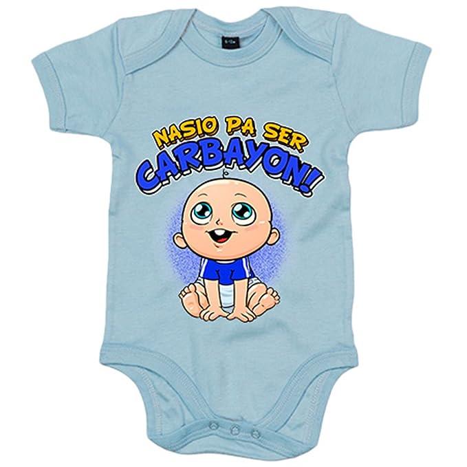 Body bebé nacido para ser Carbayon Oviedo - Azul Royal, 6-12 ...