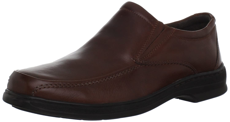 Amazon.com   CLARKS Men's Euclid Slip-On, Brown, 11 M US   Loafers & Slip -Ons