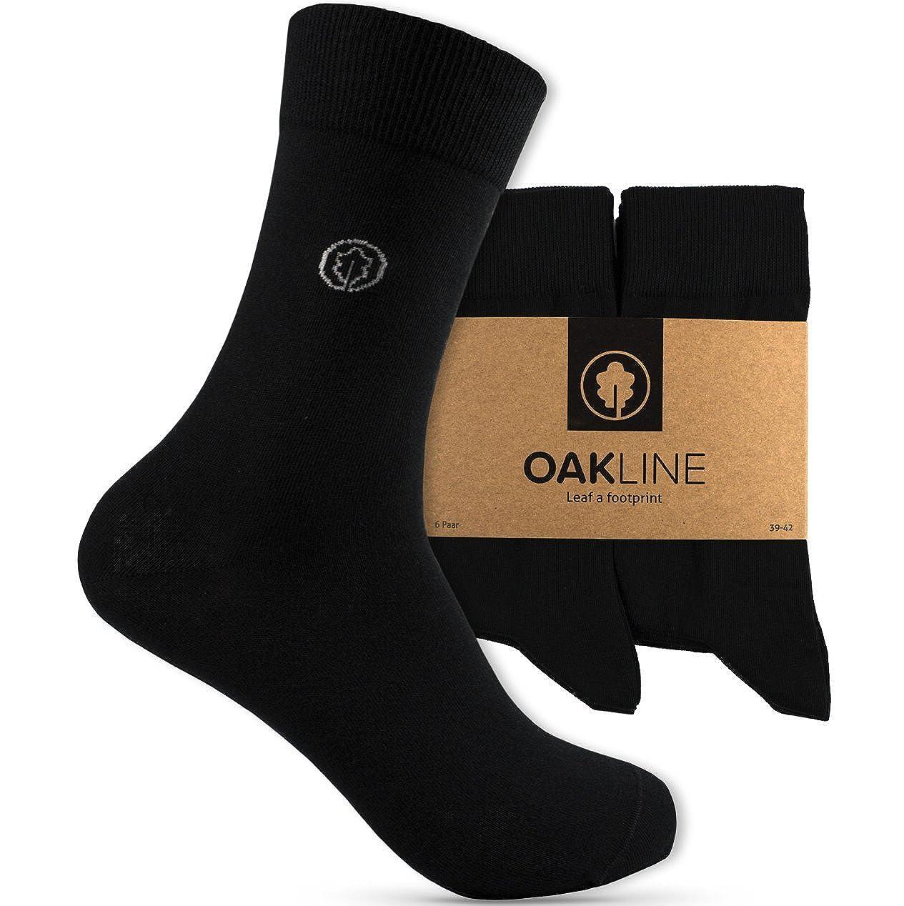 OAKLINE Rebel Black Original Unisex Damen- und Herrensocken - 6 Paar - 503016