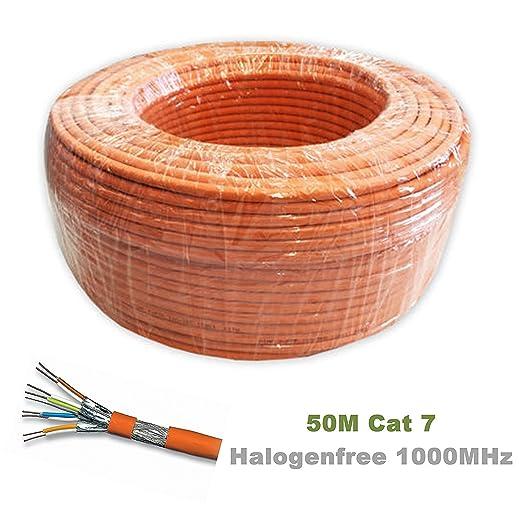7 opinioni per 50m Reel Cat 7 Cavo Ethernet, Halogen
