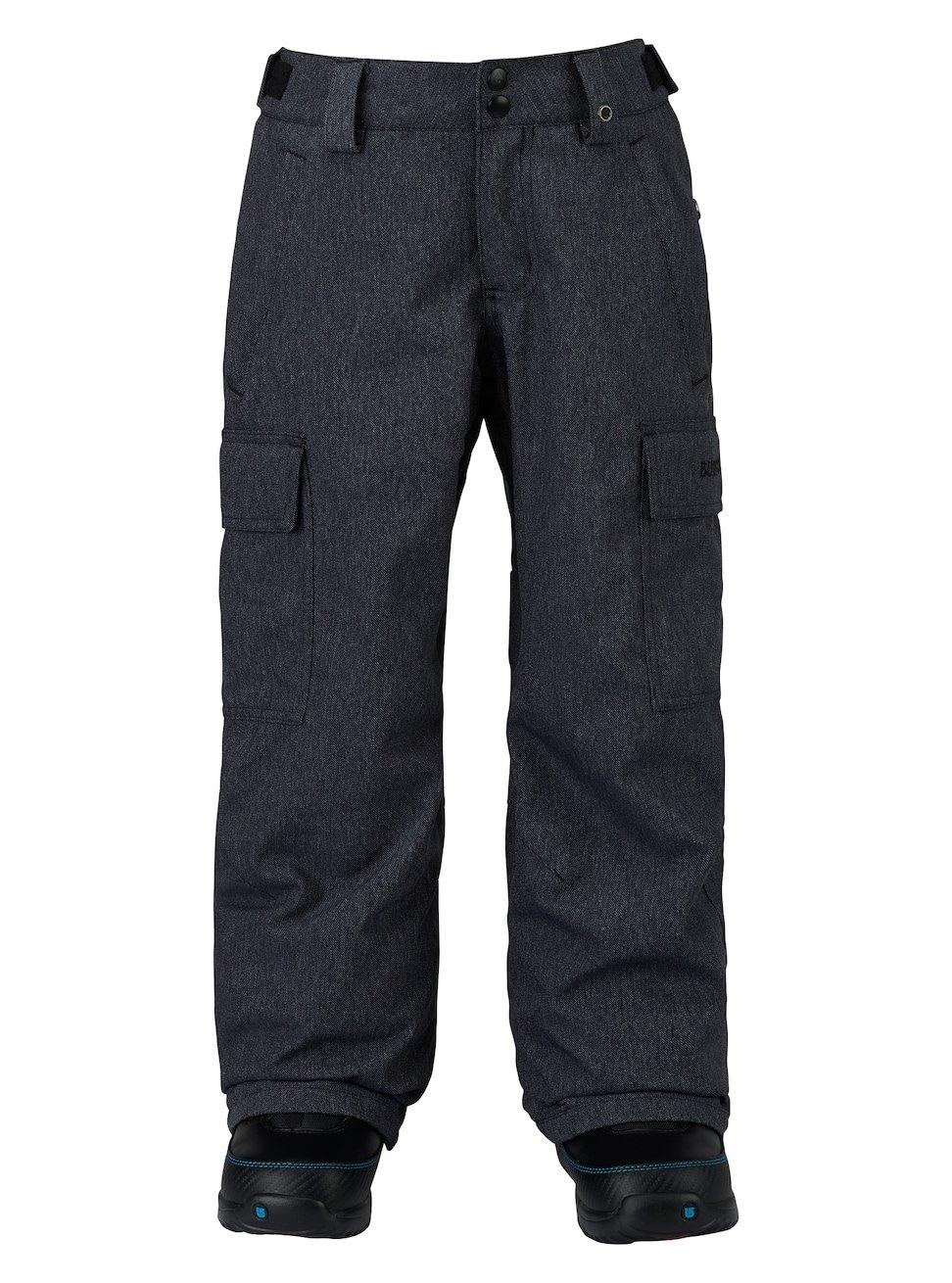 Burton Boys Exile Cargo Pants, Denim, X-Small