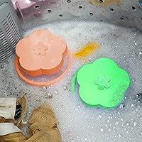 Weite Sacos de filtragem de lavanderia, 2 peças reutilizáveis de filtros para fiapos para uso em máquina de lavar roupas…