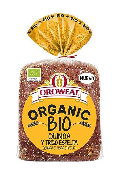 Oroweat Organic Bio Quinoa y Trigo Espelta, pan multicereales ...